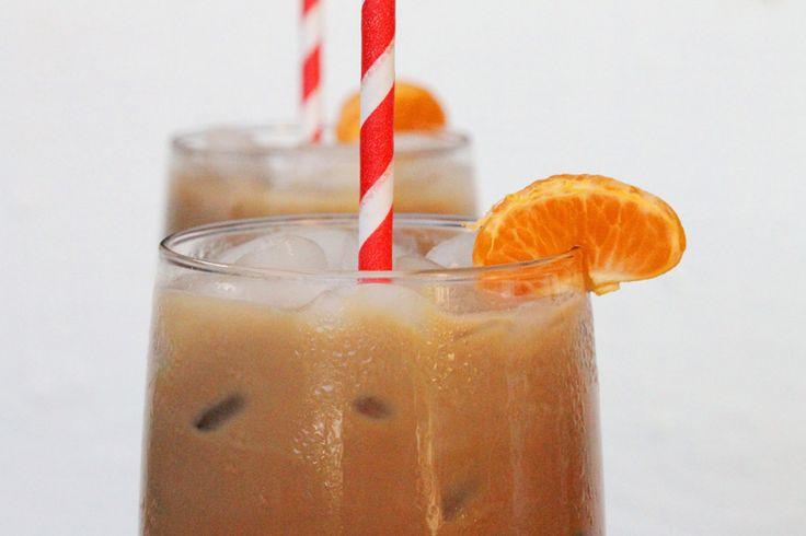 Iced Mandarin Orange Café Mocha
