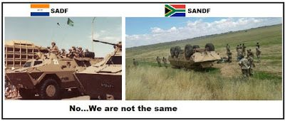Mike Smith's Political Commentary: SANDF bankrupt. About to close its doors