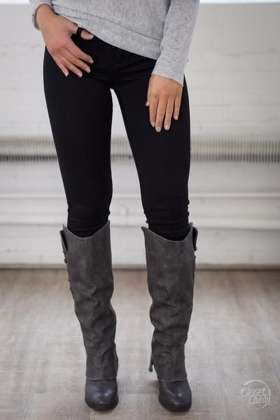 All For You Skinny Jeans - Black