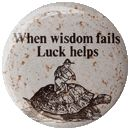 When Wisdom Fails Luck Helps