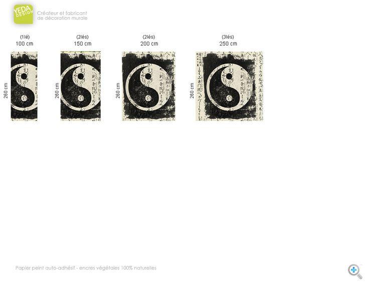 Trend Papier peint Ying Yang