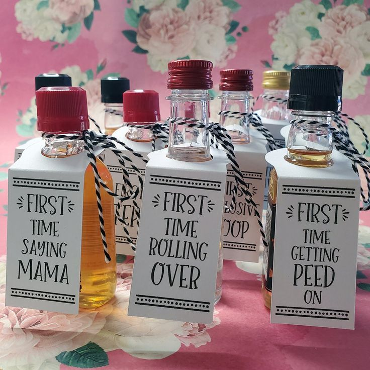 Baby's Firsts - Fun & Unique Baby Shower Gift, Add to Shot ...
