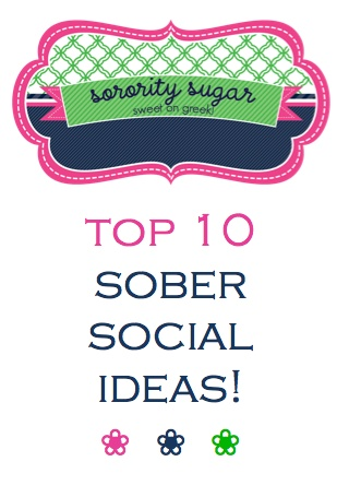 sorority + fraternity + activity = sober social fun! <3 I want to do bunch of these!