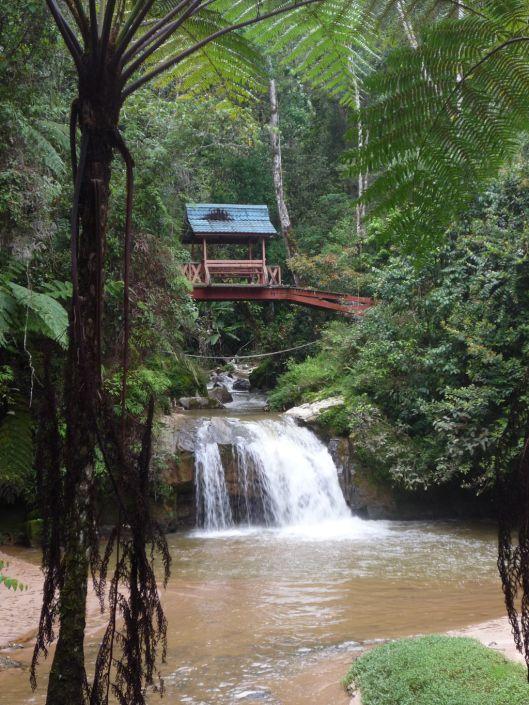 Parit Waterfall, Cameron Highlands, Malaysia