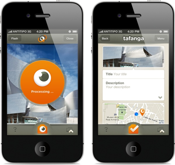 Tafanga App by Antitipo , via Behance