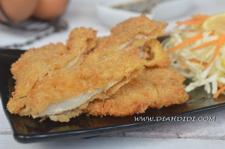 Diah Didi's Kitchen: Chicken Katsu Pedas
