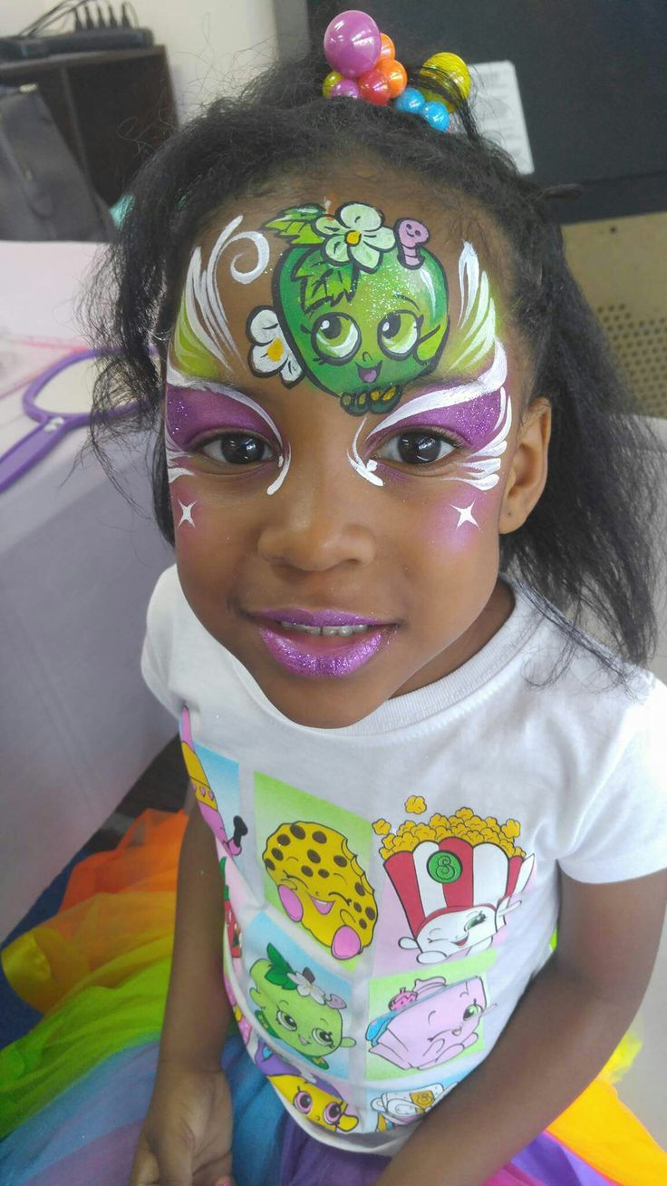 12 best Face Paint Shopkins images