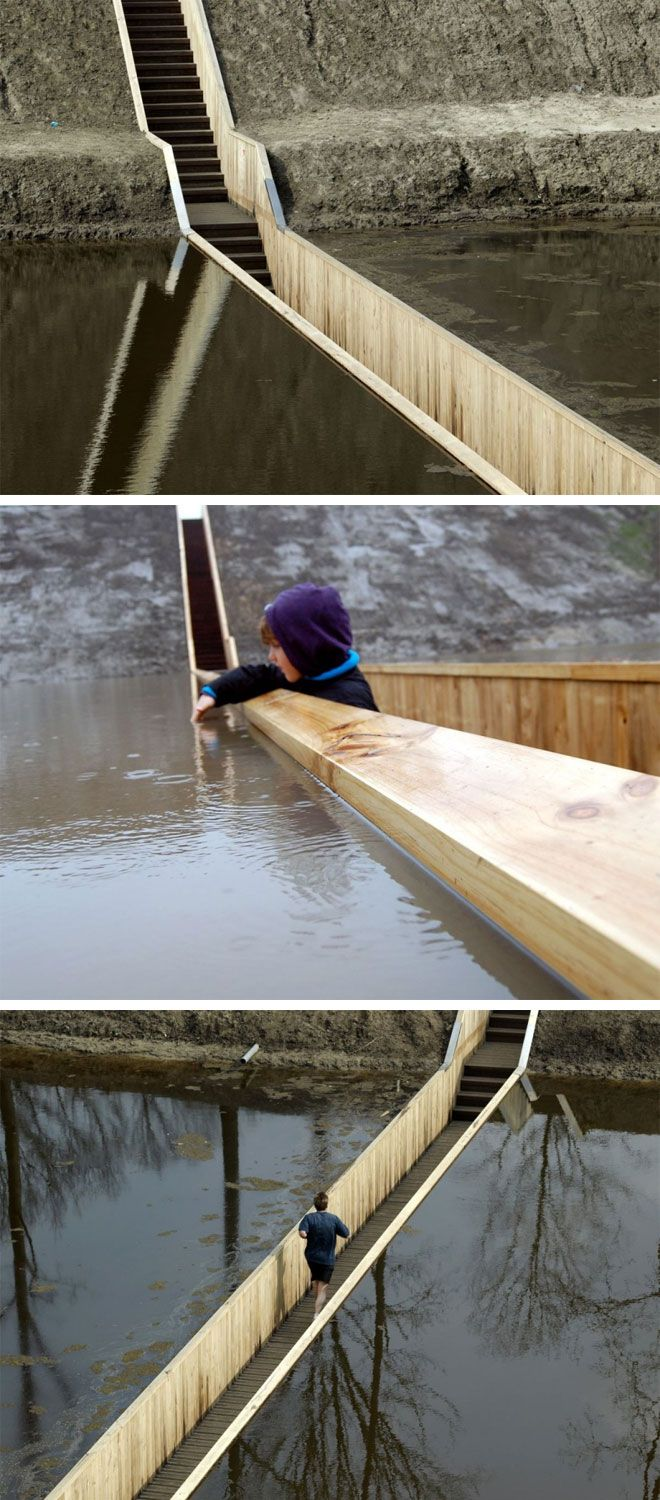 Application would be limited but this trench bridge is cool!