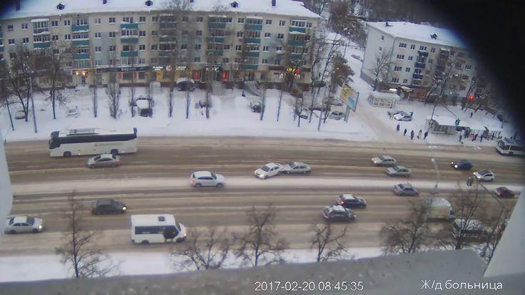 вылеты из колеи на проспекте октября 17 20 февраля в г Уфа