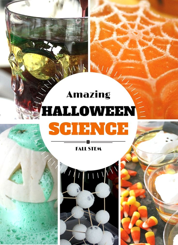Get inspired this Halloween with DIY experiments YOU can do in your kitchen!
