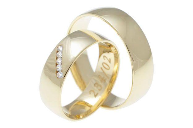 Snubní prsteny - model č. 234/02