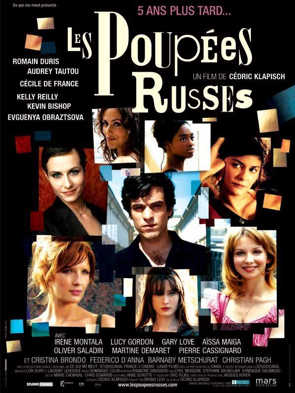 """""""Les Poupées Russes"""". J'ai retrouvé avec plaisir les acteurs de l'Auberge Espagnole, mais j'ai beaucoup moins aimé. C'est plus brouillon, plus saccadé. J'ai passé un moins bon moment. Dommage..."""