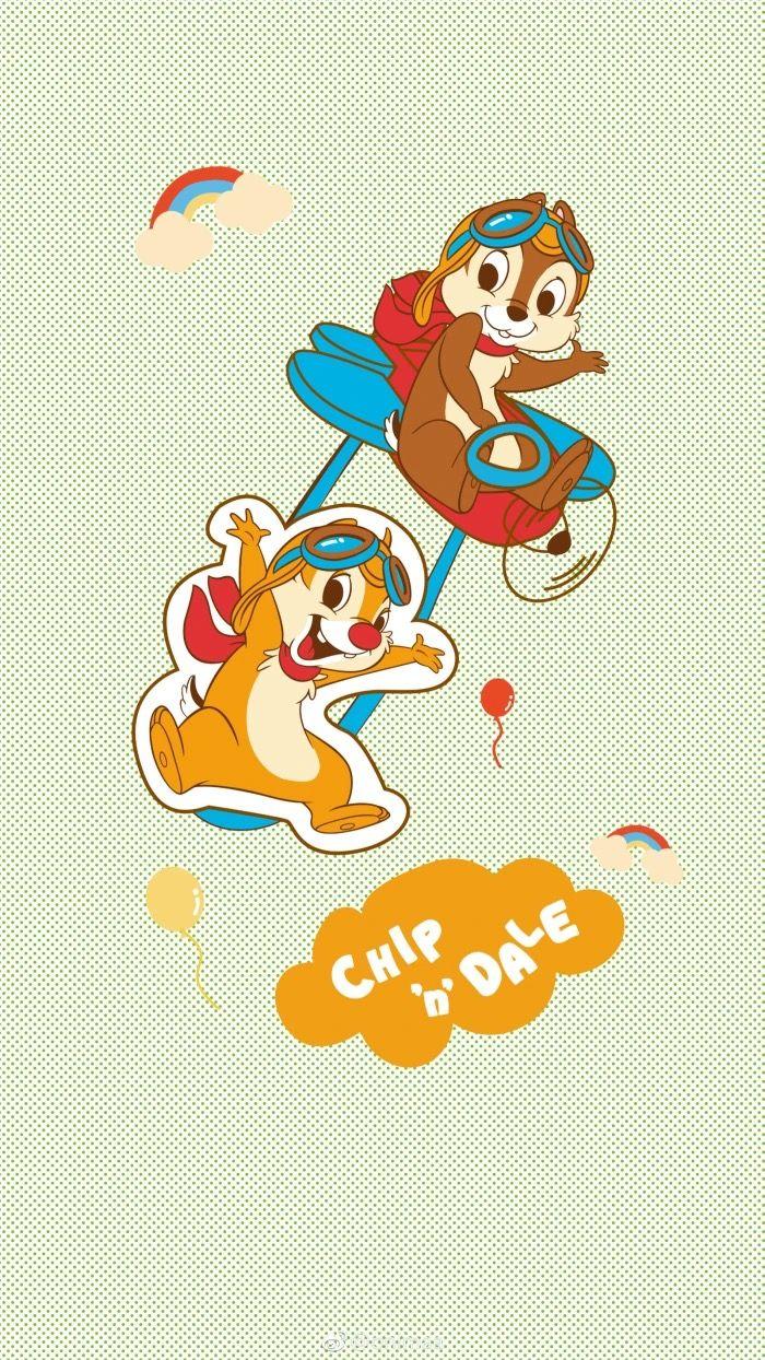 Wallpaper Disney おしゃれまとめの人気アイデア Pinterest Toshiro Chin チップとデール 壁紙 ペア画 ディズニー ハローキティの壁紙