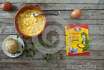 #Culinary #Preparation With #Saffron Of #Meneghino #Editorial #Dreamstime #food #pie #broccolipie