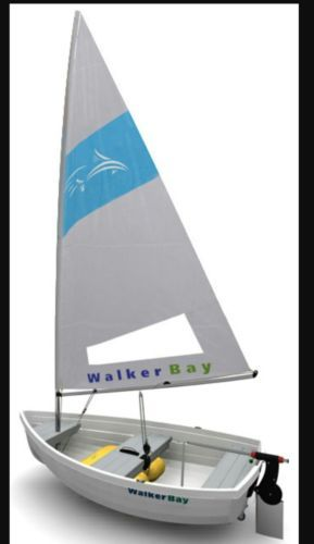 Other Kayak Canoe and Rafting 36123: New Walker Bay 99107 Performance Sail Kit For Rigid 8 Dinghy Boat -> BUY IT NOW ONLY: $699 on eBay!