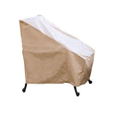 Trend Hearth u Garden Patio Chair CoverHearth u Garden Patio Chair Cover Heavy weight pvc coated polyester Resist cracking fading tearing and mold build up