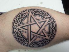 celtic pentagram tattoo - Google Search