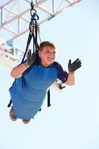 Biingo flyin' high #BiggestLoser