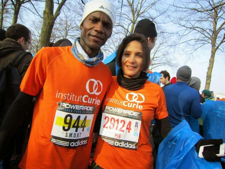 Semi Marathon de Paris 2014 (2 mars) : « Ronning Against Cancer » et Ronald Tintin y seront pour soutenir la lutte contre le cancer aux couleurs de l'Institut Curie avec un grand plaisir!
