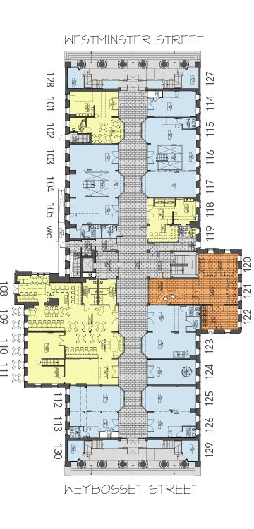 Retail Floor Plan - arcade providence .:. a historic revival