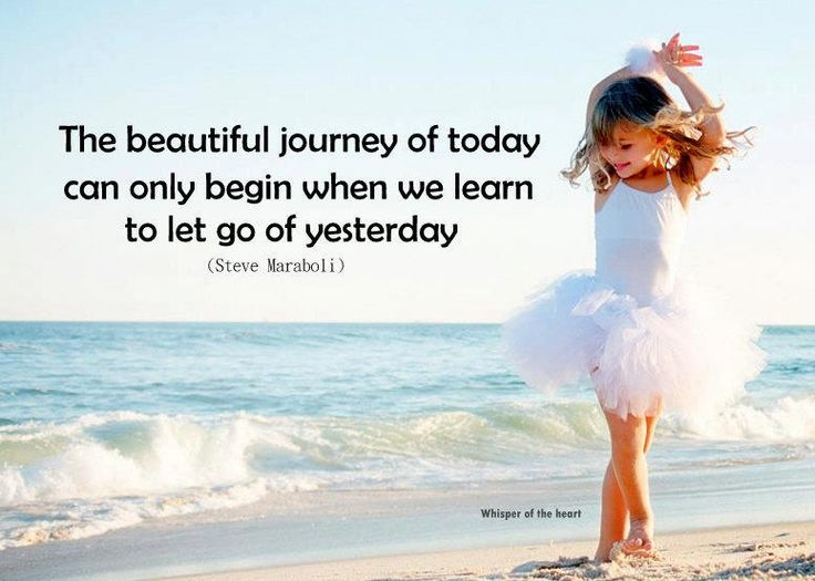 Learning to Let Go Quotes   Learn To Let Go Of Yesterday   Funz Mania