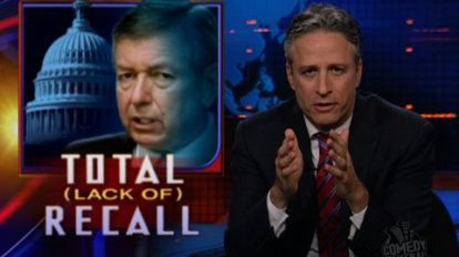 Total (Lack of) Recall | John Ashcroft tries to think of all the appropriate reasons to refuse to answer questions from the House Judiciary Committee.