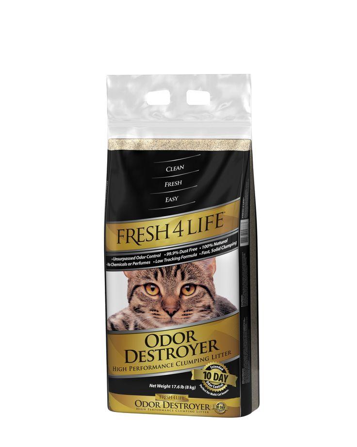 Fresh 4 Life Odor Destroyer Cat Litter