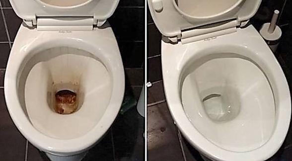 """Résultat de recherche d'images pour """"La Meilleure Façon de Détartrer ses WC."""""""