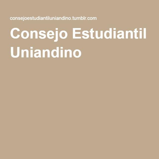 Consejo Estudiantil Uniandino