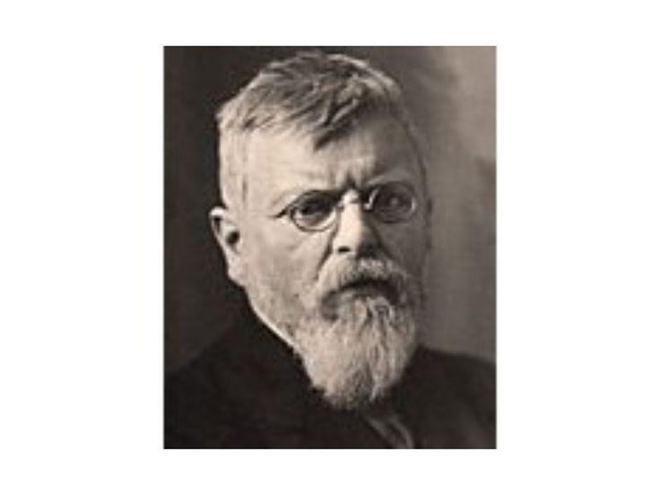 Theodor Fischer, 1897, Foto: Karl Bauer  Link öffnet eine vergrößerte Darstellung des Bildes.