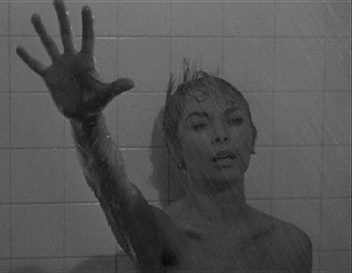 Janet Leigh in the famous shower scene