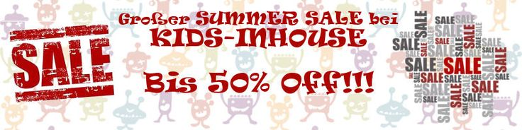 Der ultimative SUMMER SALE für Kindermode - jetzt bei Kids-Inhouse! Bis 50% OFF!