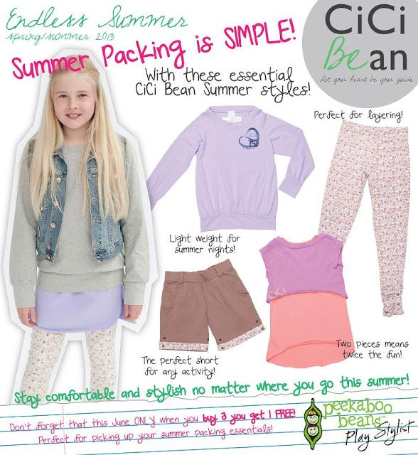 Cici Bean - Style Guide: Summer Vacay Packing | CiCi Bean blog for girls. | www.letyourheartbeyourguide.blogspot.ca