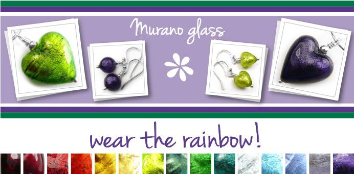 Buy gorgeous Murano glass jewellery for Summer!