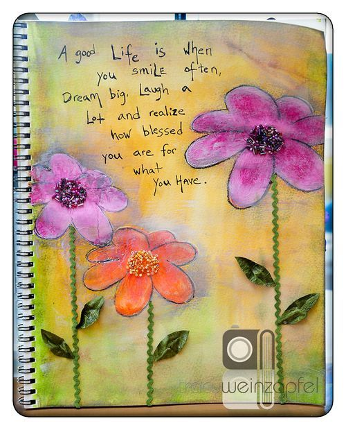 """""""A good LIfe is when you smile often, dream big, laugh a lot and realize how blessed you are for what you have."""""""