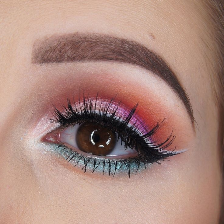 Makeup Geek Eyeshadows in Morocco and Simply Marlena + Makeup Geek Foiled Eyeshadows in Masquerade, Pegasus and Whimsical. Look by: Kayla Matisi