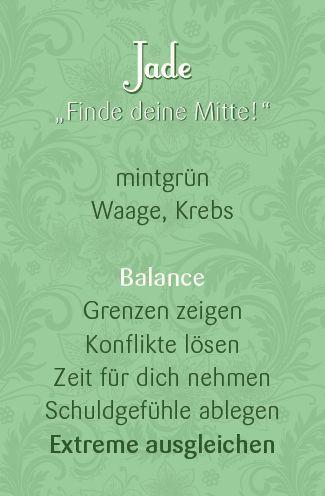 Bei Eva Wimmer kannst du deinen persönlichen Jade Schmuck online kaufen und lernst alles über die Wirkung und Bedeutung von Jade.