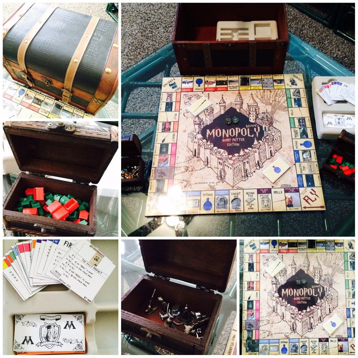 Harry Potter: Monopoly! More