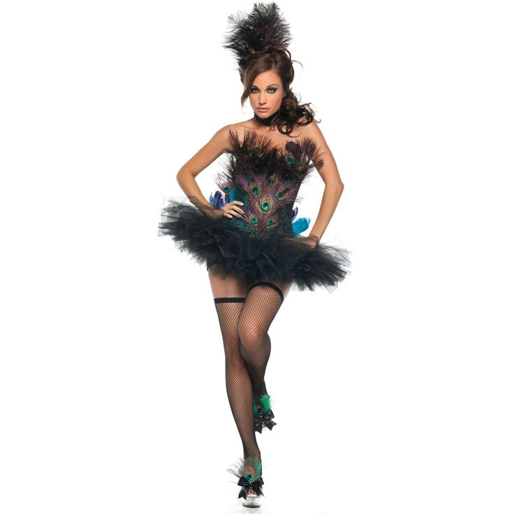 @Cat Cessac Another peacock costume... We could totally make this one, too.  Screw $200+ for a shitty store bought costume.