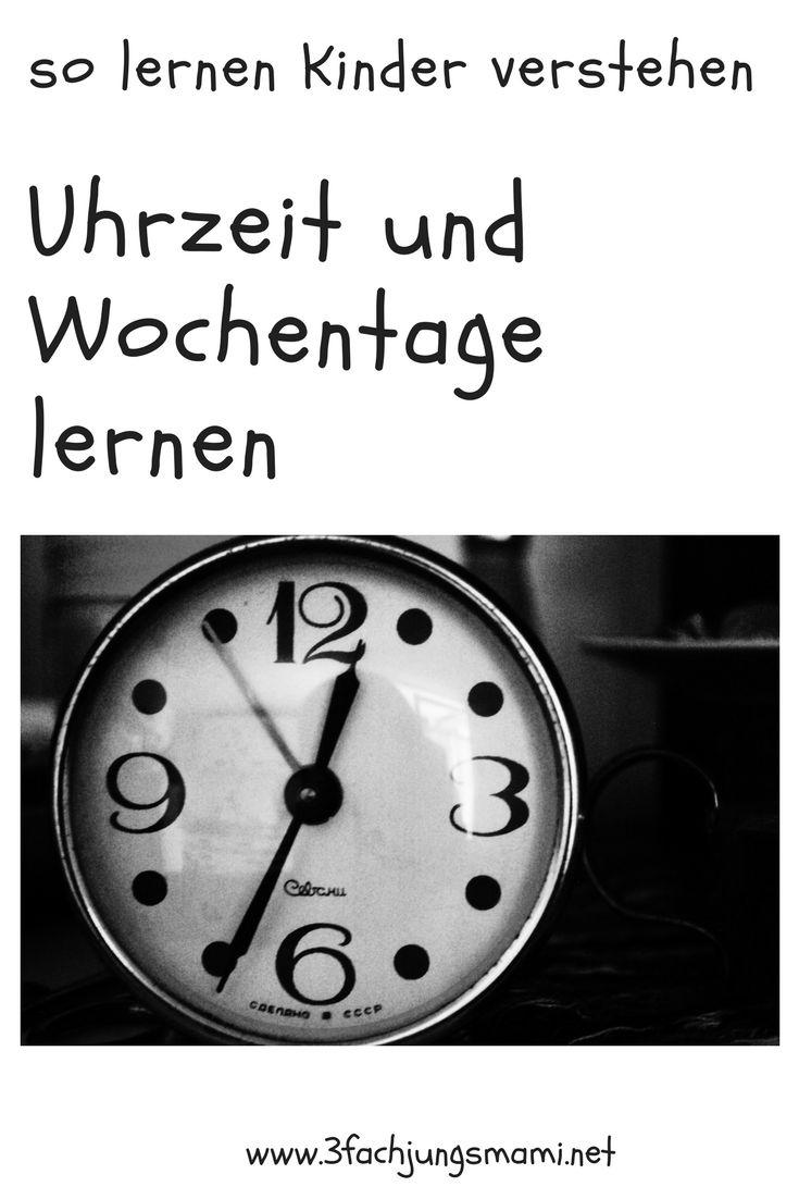 So lernt dein Kind die Uhr #uhrlernen #uhrzeit