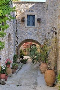 Meste, cultuurvakantie Chios, vakantie Griekenland