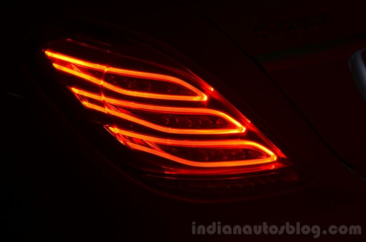 2014 Mercedes S Class review LED taillights