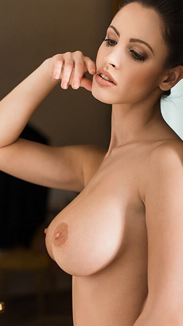 Boobs side view nipples