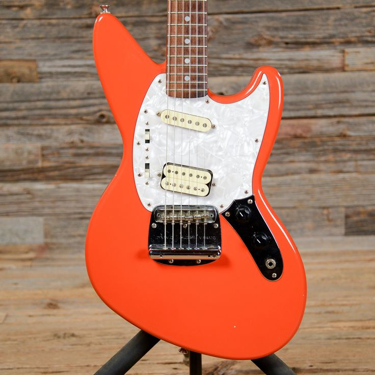Fender Jagstang Fiesta Red 1996 I want this but at the same time I don't think I need it???...