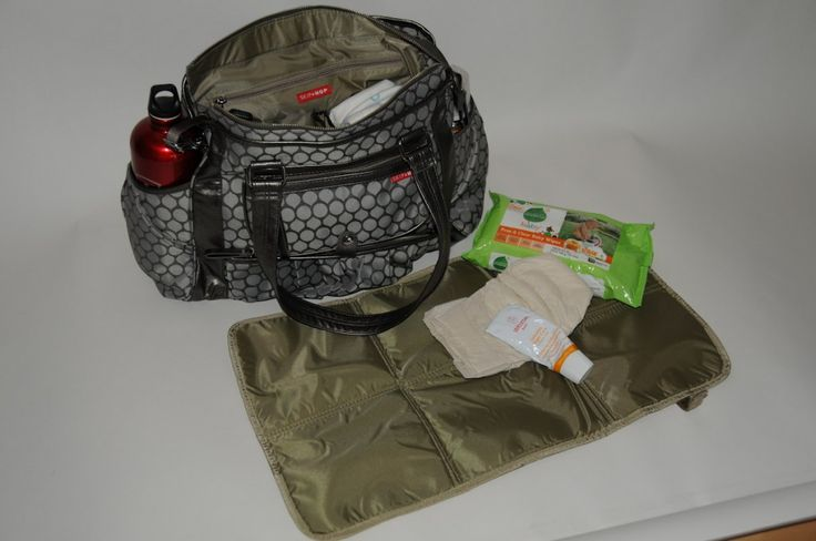skip hop diaper bag....this might be the one for me