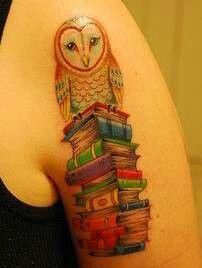 bookworm barn owl tattoo owl adoration pinterest. Black Bedroom Furniture Sets. Home Design Ideas