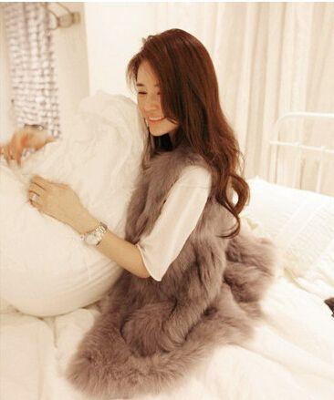 US $14.08 -- Outerwear 2015 Autumn Winter Women Fashion Warm Faux Fur Vest Coat Gilet Sleeveless Jacket Casual Warm Coat Waistcoat Plus Size aliexpress.com