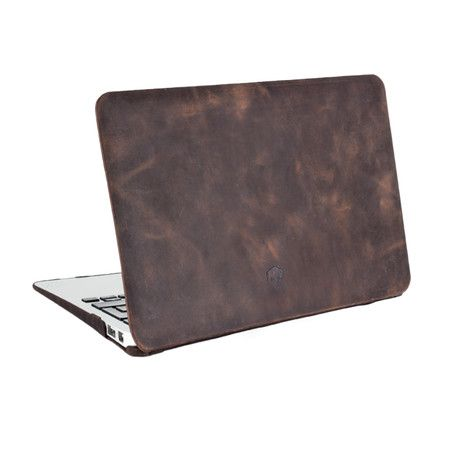 Burkley Case // MacBook Air Hardshell Cover // Antique Coffee