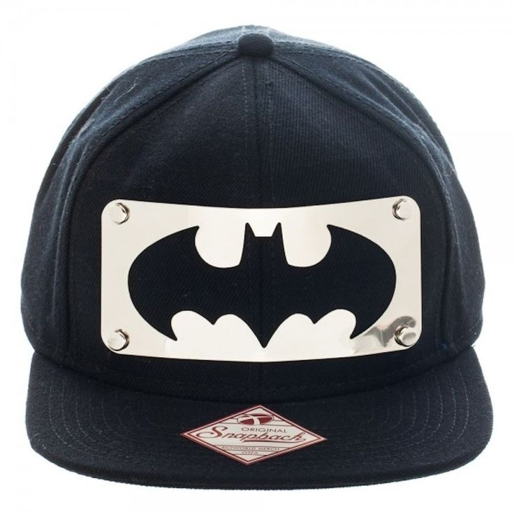 washington nationals baseball caps dc funko pop comics cap superheroes ac batman bat symbol metal plate hat flat brim