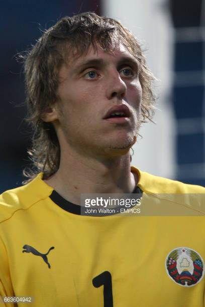 Pavel Chesnovsky Belarus goalkeeper